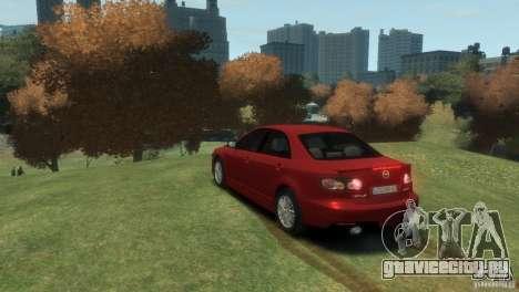 Mazda 6 MPS для GTA 4 вид слева