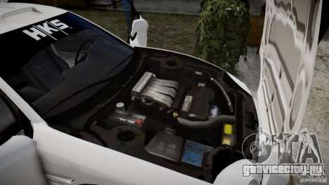 Mitsubishi 3000GT ST для GTA 4 вид сзади