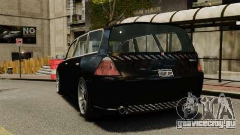 Honda Odyssey для GTA 4 вид сзади слева