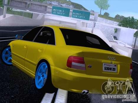 Audi S4 DatShark 2000 для GTA San Andreas вид слева