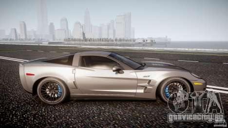 Chevrolet Corvette ZR1 2009 v1.2 для GTA 4 вид сбоку
