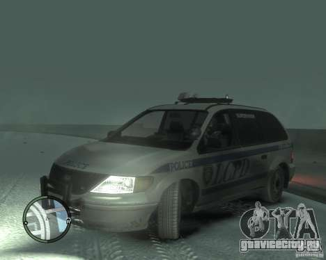 LCPD Minivan для GTA 4