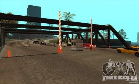 Таможня V1.0 для GTA San Andreas третий скриншот