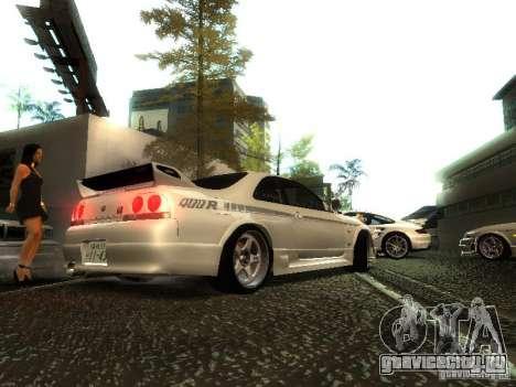 Nissan Skyline Nismo 400R для GTA San Andreas вид сзади слева