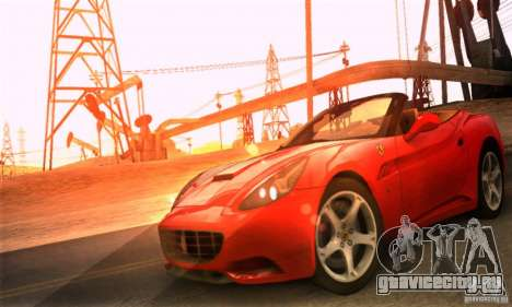 Ferrari California V3 для GTA San Andreas