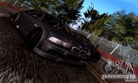 BMW M3 GTR v2.0 для GTA San Andreas вид сбоку