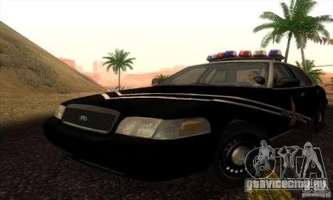 Ford Crown Victoria Idaho Police для GTA San Andreas