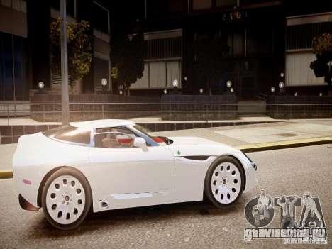 Alfa Romeo TZ3 Stradale Zagato для GTA 4 вид изнутри