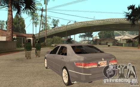 Honda Accord 2004 v2 для GTA San Andreas вид сзади слева