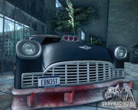 Diablo Cabbie HD для GTA San Andreas вид сбоку