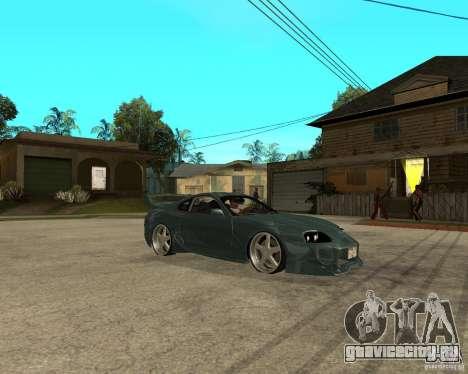 Toyota Supra Veilside для GTA San Andreas вид справа