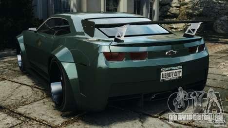 Chevrolet Camaro SS EmreAKIN Edition для GTA 4 вид сзади слева