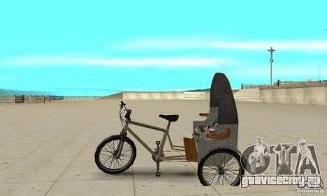 Manual Rickshaw v2 Skin1 для GTA San Andreas