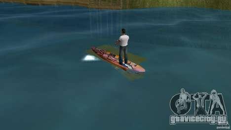 Surfboard 1 для GTA Vice City вид сзади слева
