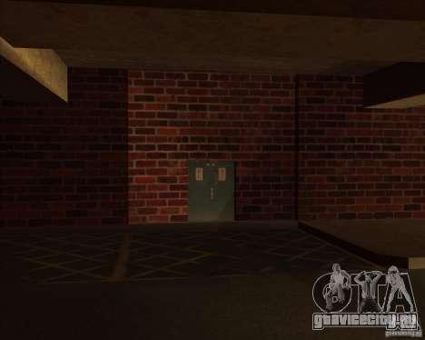 Новый гараж полиции ЛСПД для GTA San Andreas