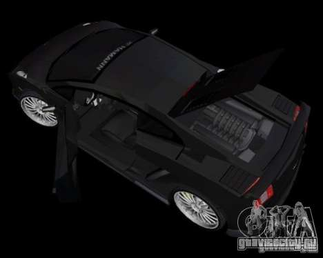 Lamborghini Gallardo Hamann Tuning для GTA Vice City вид сзади слева