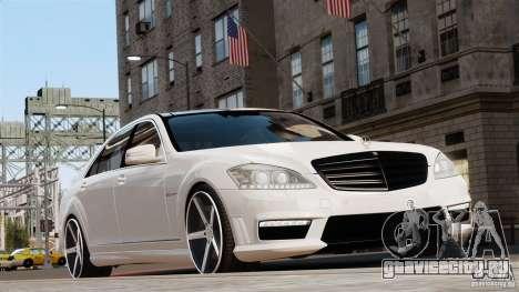 Mercedes-Benz S65 W221 AMG Vossen для GTA 4