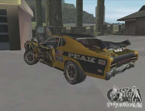 Boxer from FlatOut2 для GTA San Andreas вид справа