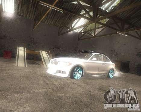BMW 135i Hella Drift для GTA San Andreas вид справа