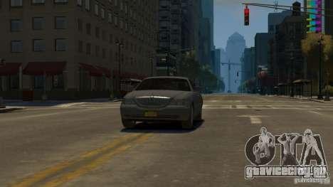 Lincoln Town Car 2003-11 v1.0 для GTA 4 вид справа