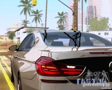 BMW M6 2013 для GTA San Andreas вид сбоку