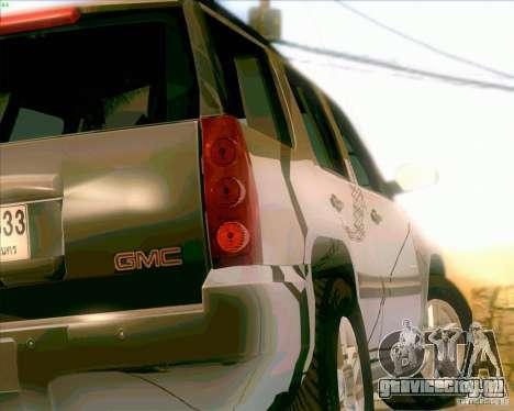 GMC Yukon Denali 2007 для GTA San Andreas вид справа