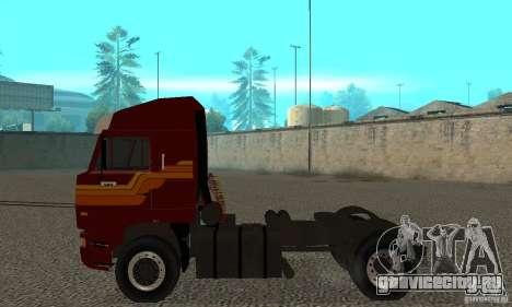КамАЗ 5460 Skin 2 для GTA San Andreas вид сзади слева
