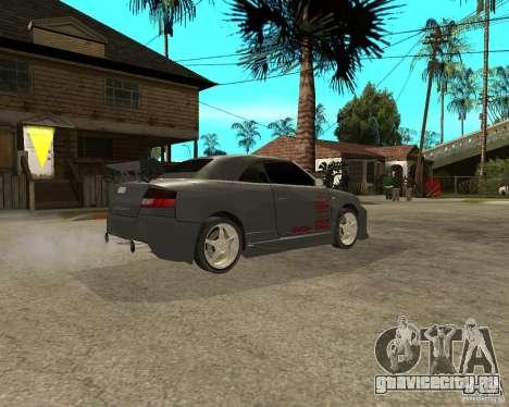 AUDI A4 Cabriolet для GTA San Andreas вид справа
