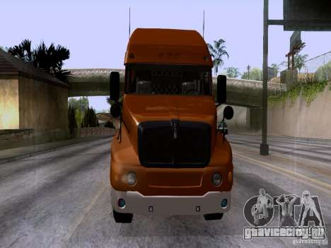 Kenworth T2000 для GTA San Andreas вид сзади слева