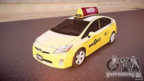 Toyota Prius NYC Taxi 2011 для GTA 4