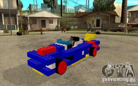 LEGO мобиль для GTA San Andreas