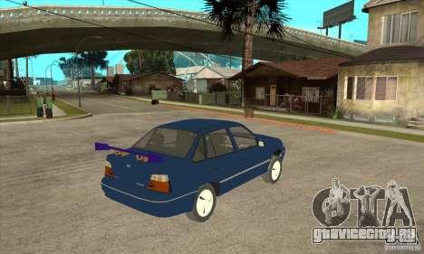 Daewoo Nexia для GTA San Andreas вид справа