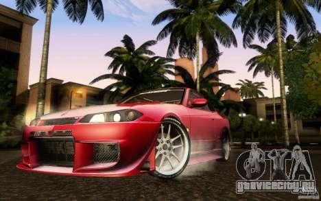 Nissan Silvia S15 Drift Style для GTA San Andreas вид сзади слева