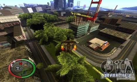 NEW STREET SF MOD для GTA San Andreas восьмой скриншот