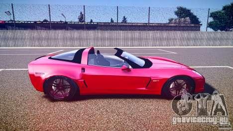 Chevrolet Corvette Z06 1.2 для GTA 4 вид сбоку