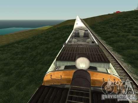 2ТЕ10У-0137 для GTA San Andreas вид сзади