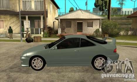 Acura Integra Type-R - Stock для GTA San Andreas вид слева