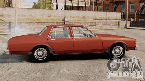 Chevrolet Caprice Classic 1979 для GTA 4 вид слева