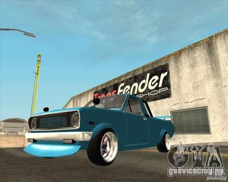 Nissan Sannytrack для GTA San Andreas вид сзади
