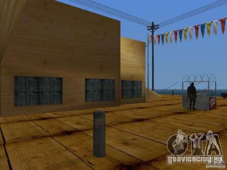 Новые текстуры пляжа v2.0 для GTA San Andreas восьмой скриншот