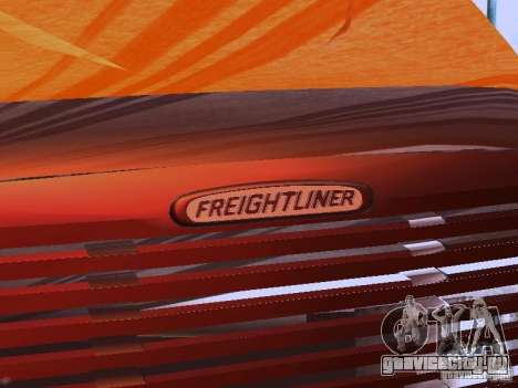Freightliner Columbia для GTA San Andreas вид сверху