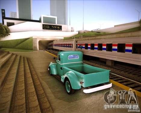 Shubert pickup для GTA San Andreas вид сзади слева