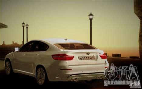 BMW X6M E71 для GTA San Andreas вид сверху