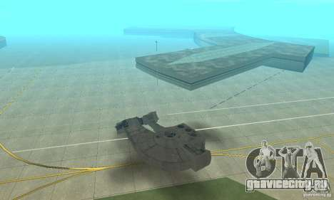 YT-2400 Вестник для GTA San Andreas вид слева