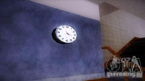 Рабочие настенные часы для GTA San Andreas