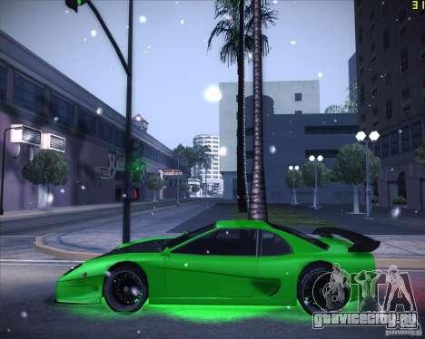 Tuned Turismo для GTA San Andreas вид слева