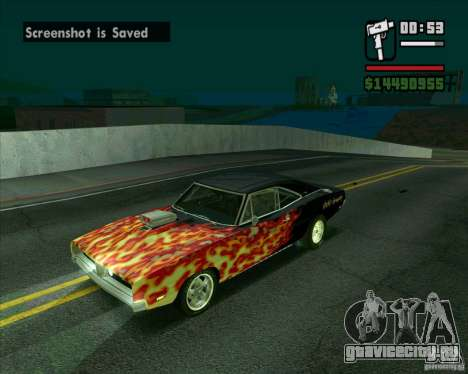 Dodge Charger R/T 69 для GTA San Andreas