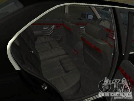 BMW 740I E38 (RUS) для GTA San Andreas вид сзади