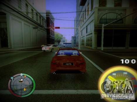 Спидометр by CentR для GTA San Andreas