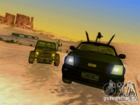 Suv Call Of Duty Modern Warfare 3 для GTA San Andreas колёса
